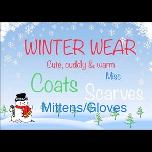 Coats, Scarves, Mittens, etc.